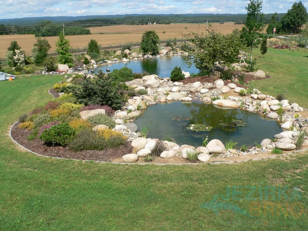 Zahradní Jezírka Moderní Styl Využití Zahrad